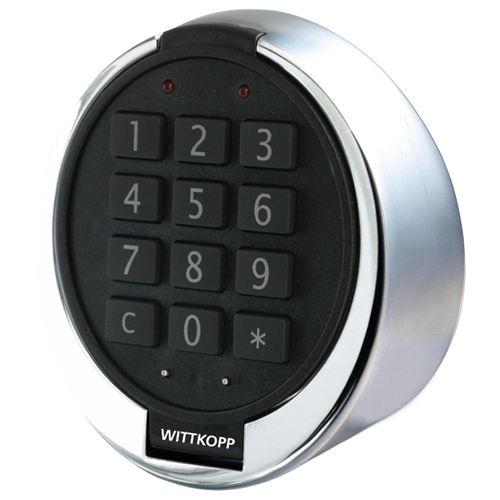 Elektronisch slot 'Multicode'