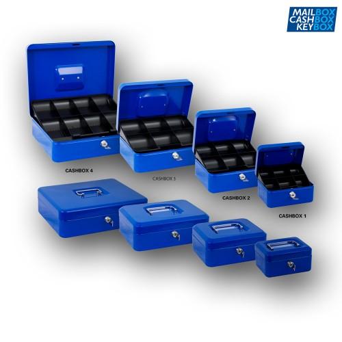 Cashbox 3 Blauw
