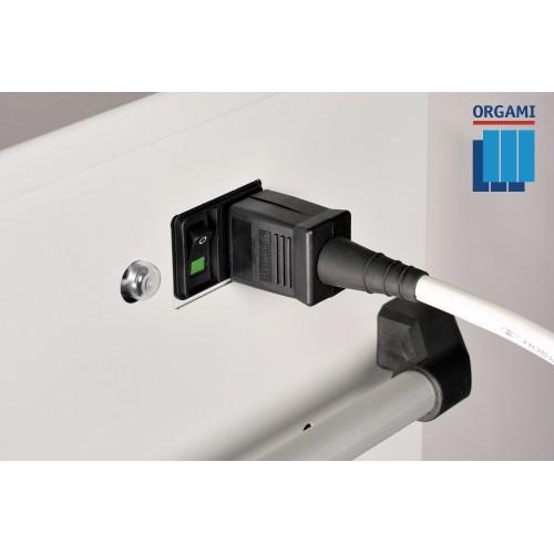 Orgami Laptopkar 10-vaks RS met stroomvoorziening